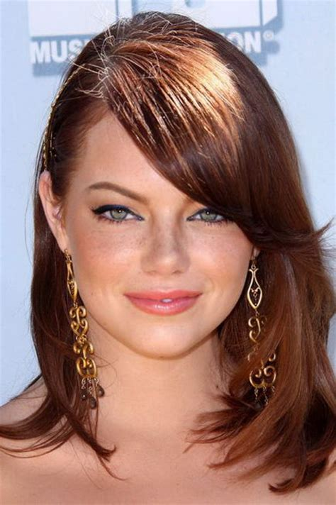 hairstyles  fat face  neck