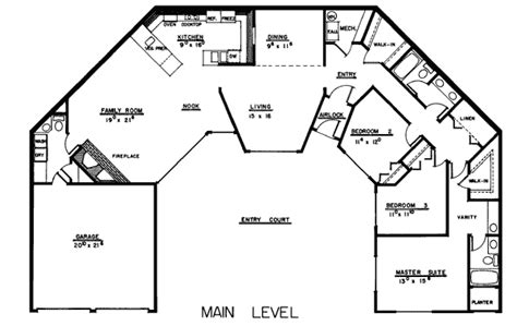 single level floor plans house plan 99720 at familyhomeplans com