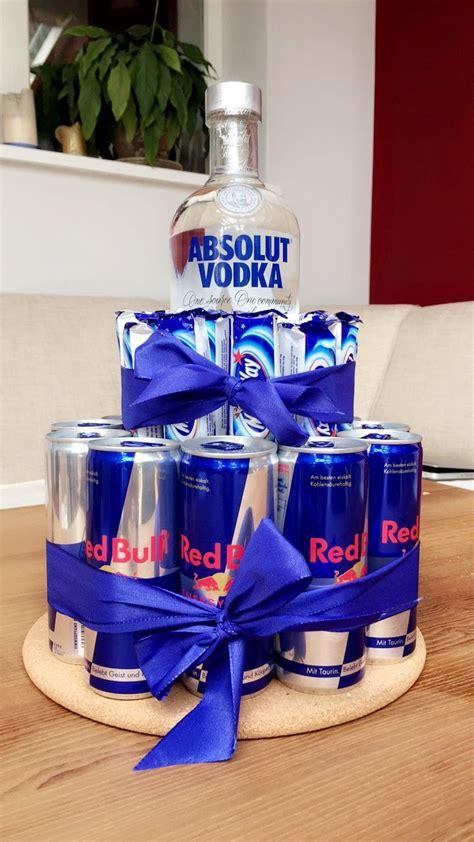 vodka torte alkohol geschenke selbstgemachte geschenke