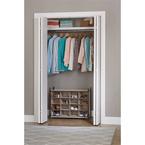 Closet Organizer Walmart Good Back To Ideal Walmart