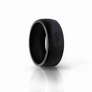 men39s silicone ring wedding band rinfit designed With medical grade silicone wedding rings