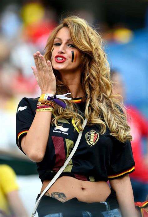 top  countries   hottest female football fans