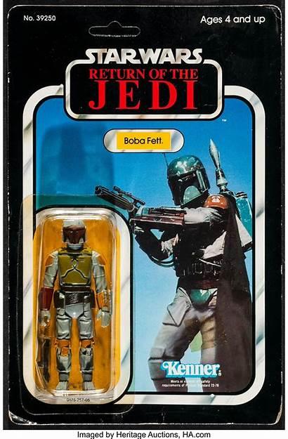 Boba Fett Jedi Return Kenner 1983 Card