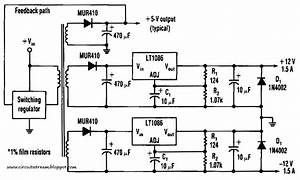 Build A Efficient Negative Voltage Regulator Circuit