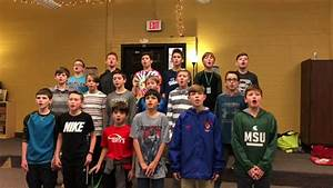 Red River Valley (TC West MS 6th grade honors choir boys ...