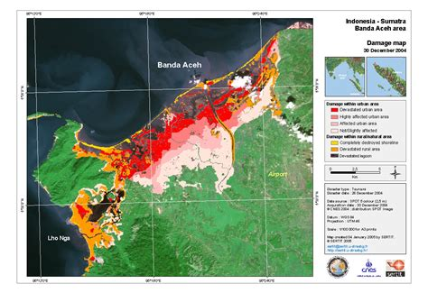 indonesia sumatra banda aceh area damage map