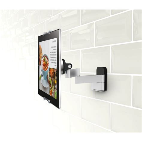 support tablette pour cuisine vogel 39 s pack support tablette mural articulé universel
