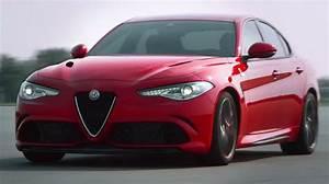 Alfa Romeo Giulia Quadrifoglio Occasion : vid o alfa romeo giulia qv 2015 coutez le son du v6 de 510 ch l 39 argus ~ Gottalentnigeria.com Avis de Voitures