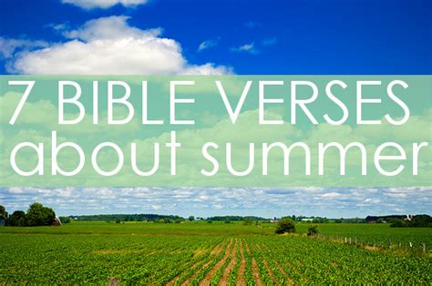 Biblical Quotes With Summer Quotesgram