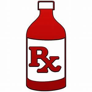Rx Bottle Clipart - Clipart Suggest