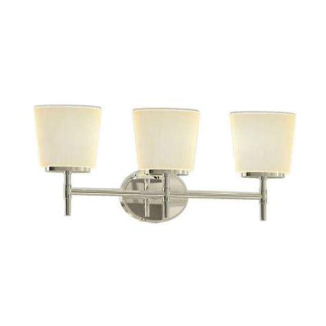 home depot bathroom vanity light shades home decorators collection 3 light polished chrome vanity