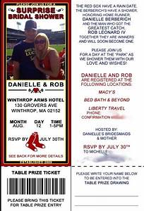 39 best baseball bachelorette party ideas images on With red sox wedding invitations