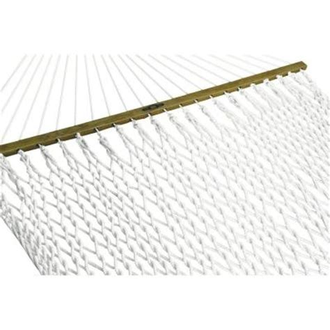 hammock home depot pawleys island 13 ft presidential polyester patio rope