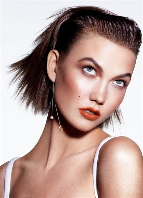 Karlie Kloss Models Summer Beauty for The Sunday Times ...