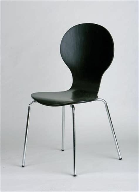 chaise cuisine noir chaise de cuisine lot de 4 en métal et bois coloris noir