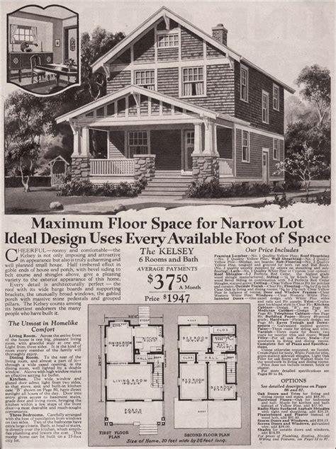 montgomery ward kelsey vintage house plans craftsman bungalows house exterior
