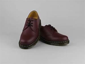 Chaussure Homme Doc Martens : chaussures doc martens 1461 lacets rouge bordeaux cuir lisse ~ Melissatoandfro.com Idées de Décoration