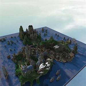 8 Of The Biggest Minecraft Builds Ever BC GB