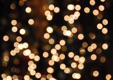 white christmas lights bokeh hard