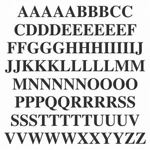 adhesive letters times roman upper case letter kit With peel and stick letters for outdoor signs