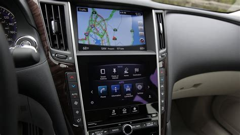 Q50 Software Update by 2015 2016 Infiniti Q50 Intouch 2 Screen Infotainment And