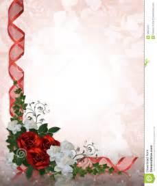 wedding scrap book rosas rojo de la frontera de la invitación de la boda