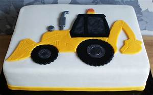 digger jcb cake fondant cakes in lahore free delivery With digger cake template