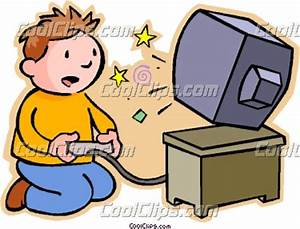Boy playing video game | Clipart Panda - Free Clipart Images