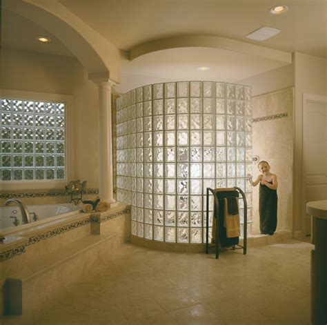 seattle glass block glass block shower glass block