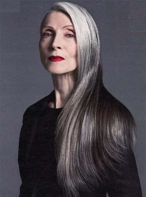 Graceful Long Hairstyles for Older Women 2018 Hairstylesco