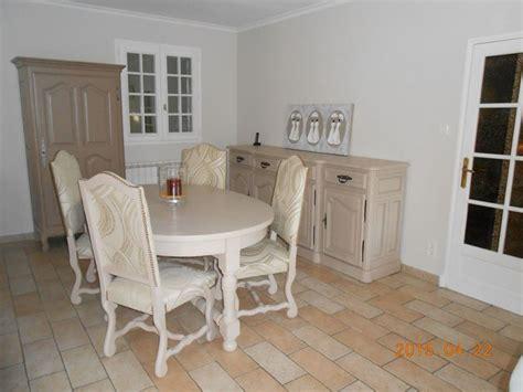 rénover un meuble avec de relooking d 39 une salle à manger rustique en chêne massif à