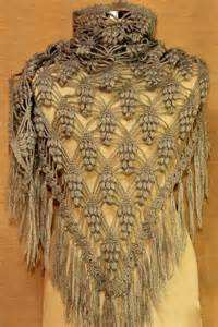 Crochet Pineapple Lace Shawl Pattern