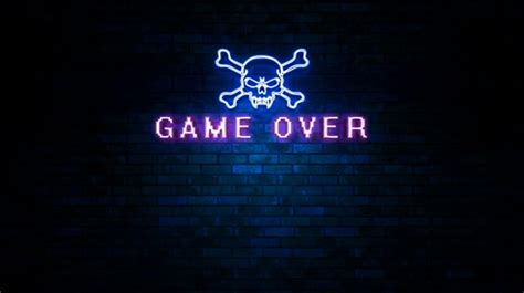 game  skull neon light sign  ianm videohive