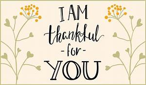 Thankful for You eCard - Free Thanksgiving Cards Online