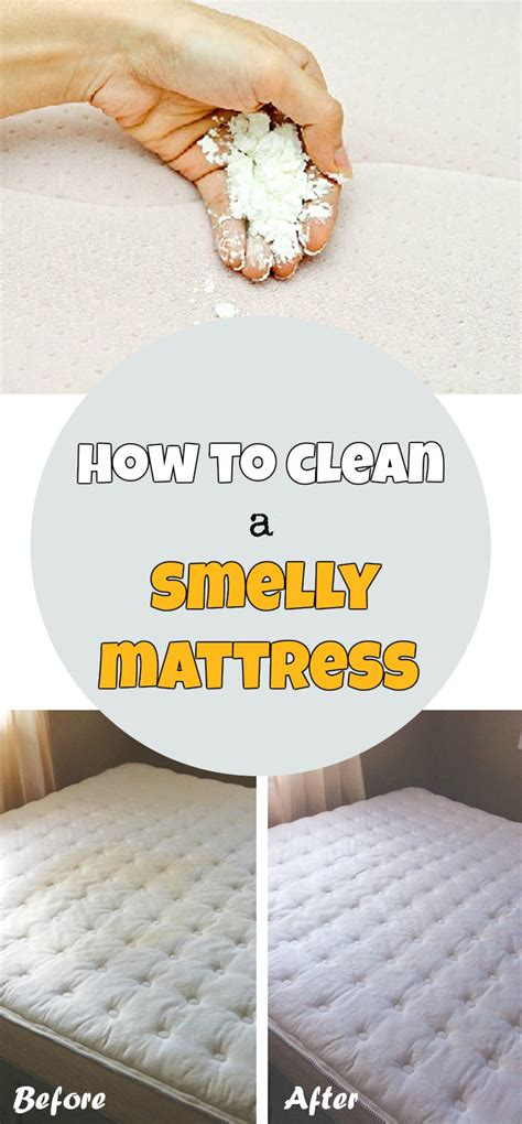 clean  smelly mattress getcleaningtipsnet