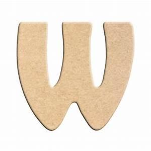 Lettre En Bois A Peindre : lettre w peindre d corer lettre en bois brut lettre ~ Dailycaller-alerts.com Idées de Décoration