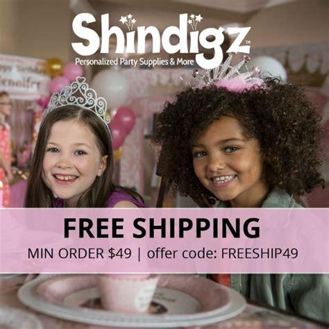 95919 Shindigz Promo Code by Shindigz 50 Gift Certificate Giveaway