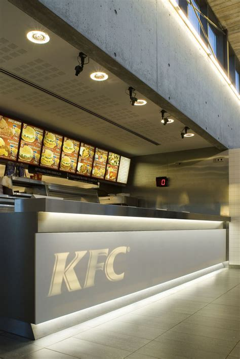 fast food restaurant kfc pk arkitektar archdaily