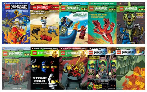 Lego Ninjago Graphic Novels Going Strong  Ee  Sales Ee   P