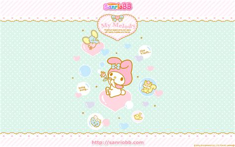 Download My Melody Wallpaper For Laptop  PNG