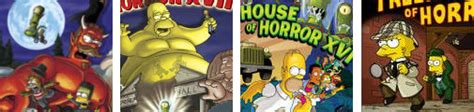 Treehouse Of Horror Episodes  Scary Website