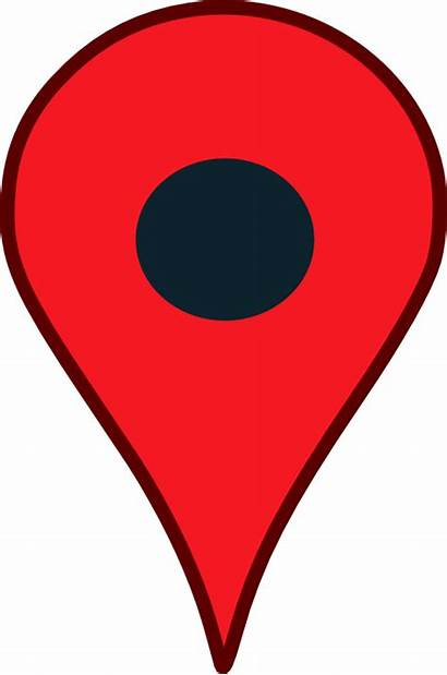 Google Clip Clipart Map Maps Cliparts Pointer