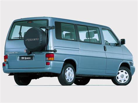 vw t4 caravelle volkswagen caravelle tdi syncro za spec t4 1999 2003
