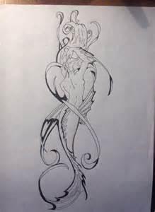 Mermaid Tattoo Drawing