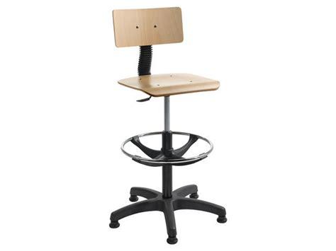 formation sur chaise chaise bois hauteur réglable sur patins avec repose