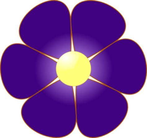 violet flower clip clipart panda free clipart