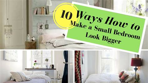 how to make a small bedroom look larger how to make a small bedroom look bigger youtube 21257 | maxresdefault