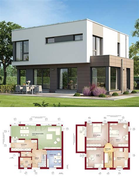 haus mit 2 wohnungen bauen bauhaus stadtvilla modern mit flachdach architektur haus