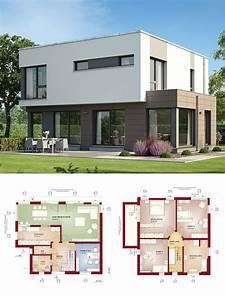 Bauen Zweifamilienhaus Grundriss : bauhaus stadtvilla modern mit flachdach architektur haus ~ Lizthompson.info Haus und Dekorationen