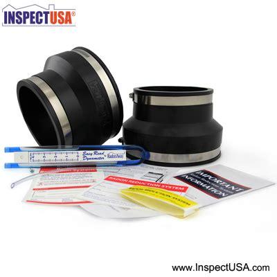 Inspectusacom Radon System Install Kit 4x6 Black (ra28068